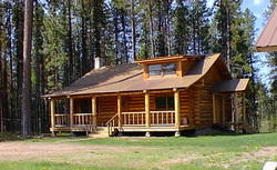 Little big sky montana cabins and montana cabin rentals for Big sky cabin rentals